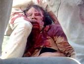 فيديو القذافي قبل مقتلة بدقائق