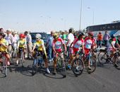 """300 متسابق يرفعون شعار """"لياقتك مناعتك.. دراجتك صحتك"""" بماراثون كفر الشيخ غدا"""