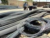 """""""الحديد والصلب"""" تصدر 47 ألف طن منتجات بـ291 مليون جنيه العام الماضى"""