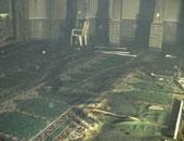 النيابة تطلب التحريات والتقرير الجنائى حول حريق نشب داخل مسجد فى الصف