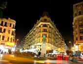 محافظة القاهرة تبدأ فى تطوير واجهات المبانى المطلة على ميدان طلعت حرب