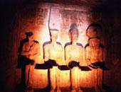 وزيرا الآثار والثقافة يشاهدان عرض الصوت والضوء بمعبد أبو سمبل