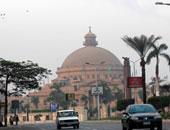 ساحة احتفالات جامعة القاهرة تتزين بمناسبة نصر أكتوبر