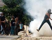 إصابة المئات من الفلسطينين فى مواجهات مع جيش الاحتلال فى القدس