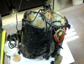 العثور على قنبلة فى قطار ركاب أبو قير بالإسكندرية