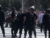 """وصول سيارتى أمن مركزى لمحيط مسجد عمر مكرم لتأمين جنازة """"أحمد رجب"""""""