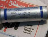النيابة تستعجل تقرير المعمل الجنائى حول قنبلة غاز عثر عليها فى العياط