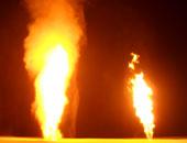السيطرة على حريق بخط 6 للغاز الطبيعى بطريق السخنة – القطامية
