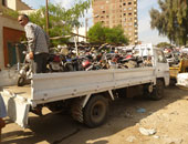 المرور يضبط 11 سيارة ودراجة بخارية متروكة فى حملات بالقاهرة