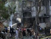 مصرع 3 أشخاص وإصابة 15 آخرين جراء انفجار فى مصنع بباكستان