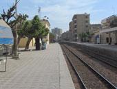 استعدادات مكثفة بمحطة قطار بنى سويف انتظاراً لوصول وزير النقل