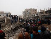 انفجاران قرب مخيم الركبان السورى على الحدود مع اﻷردن
