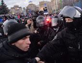 وفاة جندى أوكرانى متأثرا بجروحه بعد اطلاق نار أمام البرلمان