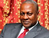 هبوط اضطرارى لمروحية تقل رئيس غانا وقرينته بسبب عاصفة رعدية