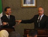 وزير خارجية إيطاليا: ينبغى تناول مسألة البعثة الاوروبية لليبيا بحذر