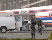 """مبارك يصل أكاديمية الشرطة بـ""""هليكوبتر"""" لمحاكمته فى """"قتل المتظاهرين"""""""
