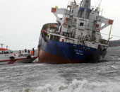 روسيا اليوم: اصطدام سفينة شحن روسية مع سفينة تركية في مضيق البوسفور