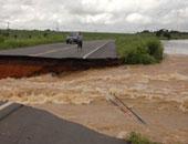 """فيضانات فى """"نيفادا"""" الأمريكية بعد انهيار سد شرق الولاية"""