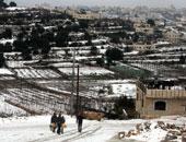 لبنان يودع عام 2015 بأشجار الميلاد والثلوج