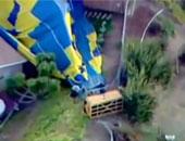تحطم منطاد هوائى يحمل 16 شخصًا بمدينة تكساس الأمريكية