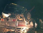 إصابة 6 مواطنين فى اصطدام سيارة ملاكى بميكروباص فى الأقصر