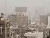 الرياح الشديدة تعيق حركة السير على طرق شمال سيناء