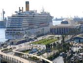 ضبط 7 أطنان أقمشة مموهة تشبه زى القوات المسلحة بميناء الإسكندرية