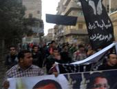 """""""6إبريل"""": مستمرون فى الإضراب عن الطعام حتى إسقاط قانون التظاهر"""