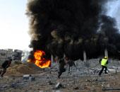 الاحتلال الإسرائيلى يشن 3 غارات جوية على منشآت تابعة لحماس فى قطاع غزة