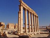 """""""داعش""""يعدم ثلاثة أشخاص بتقييدهم فى أعمدة المدينة الأثرية بتدمر وتفجيرها"""