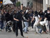 اشتباكات بين الشرطة ومتظاهرين فى اثنيا احتجاجا على تغيير اسم مقدونيا