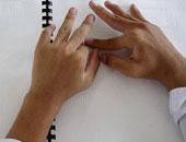 طلاب الثانوية المكفوفين بسوهاج: امتحان الفلسفة والمنطق سهل ومن الكتاب المدرسى