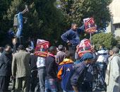 مسيرة حاشدة لدعم مرشح بدائرة قويسنا بالمنوفية