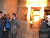 مدير آثار الفيوم : نستعد لاحتفالية تعامد الشمس على مقصورة معبد قصر قارون