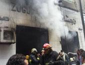 إصابة 2 فى اشتعال النيران بمخزن للأدوية بالمنيا