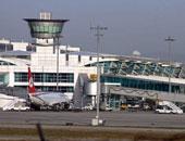 توقف الحركة الجوية فى مطار أتاتورك بإسطنبول بعد سقوط طائرة خاصة