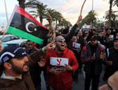 مظاهرات فى مصراتة الليبية احتجاجا على سوء الأوضاع