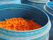 التحفظ على 1.5 طن مخللات غير صالحة للاستهلاك داخل معمل بالمحلة