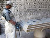 """""""عفيفي"""" يطالب وزير التجارة والصناعة بالتدخل السريع ..ليبيا تمنع ادخال السيراميك والرخام براً"""