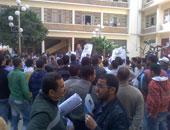 """طلاب """"حقوق الإسكندرية"""" يجمعون توكيلات لمقاضاة الجامعة بسبب النتيجة"""