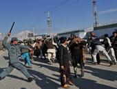 أفغان يتظاهرون فى كابول ضد مجلة شارلى إيبدو الفرنسية الساخرة
