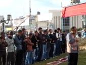 صلاة الغائب على شهداء الطائرة المصرية المنكوبة والجيش والشرطة بمسجد عمر مكرم