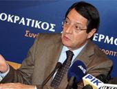 الرئيس القبرصى يبدى استعداده لاستئناف محادثات السلام