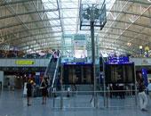 إعادة فتح محطة قطارات فرانكفورت بألمانيا