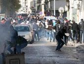 الأمن التونسى يستخدم الغاز المسيل للدموع ضد متظاهرين بمدينة تطاوين
