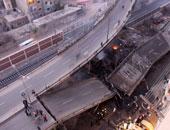 مصرع وإصابة 4 أشخاص أثر إنهيار كوبرى شمال إيطاليا