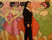 """""""ابنة الشمس"""" معرض فن تشكيلى لـ عقيلة رياض فى جاليرى النيل"""