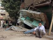 إزالة 9 محلات مخالفة فى حى العامرية بالإسكندرية