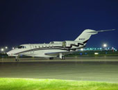 هبوط اضطرارى لطائرة خاصة بمطار الكويت لخلل فى عجلاتها دون اصابات