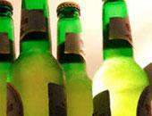 ضبط سيارة نقل محملة بـ1080 زجاجة بيرة للاتجار فيها بدون تصريح بالبحيرة